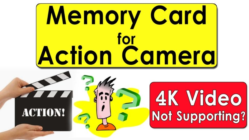Memory Card for Action Camera